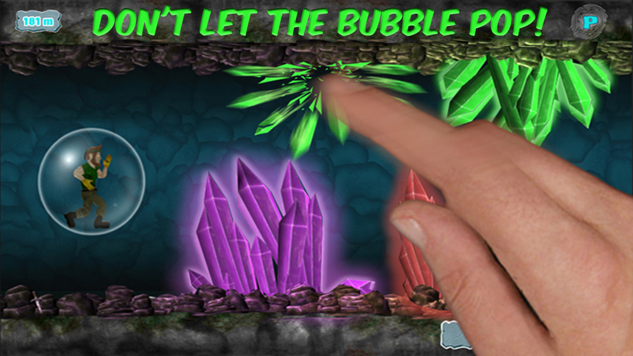 Bubble Jet Raider- screenshot