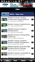 Screenshot of NECN WX