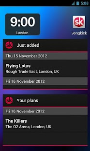 Songkick Concerts - screenshot thumbnail