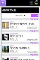 Screenshot of GDFB eSphere