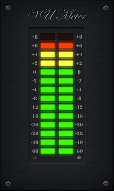 Volume Level Meter : Led vu meter google play の android アプリ