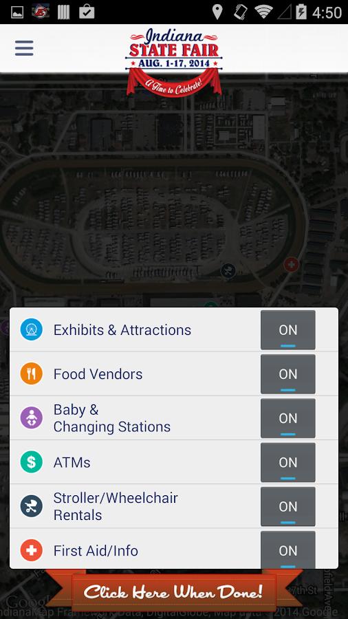 Indiana State Fair - 2014 - screenshot