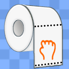 Toilet Paper Racing icon