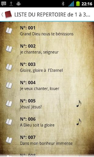 Chants de Victoire