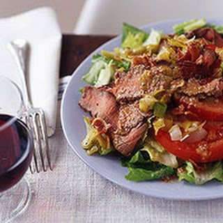 BLT (Beef, Leek and Tomato) Salad.