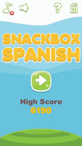 西班牙语单词学习游戏