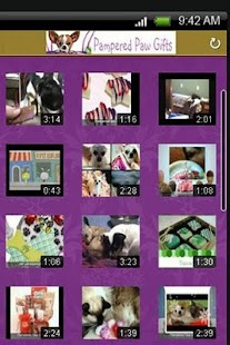 Pampered Paw Gifts.com- screenshot thumbnail