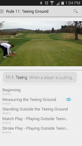kApp: Misunderstood Golf Rules