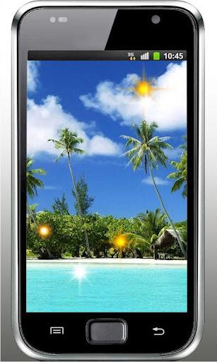 Beach Tropical Live Wallpaper