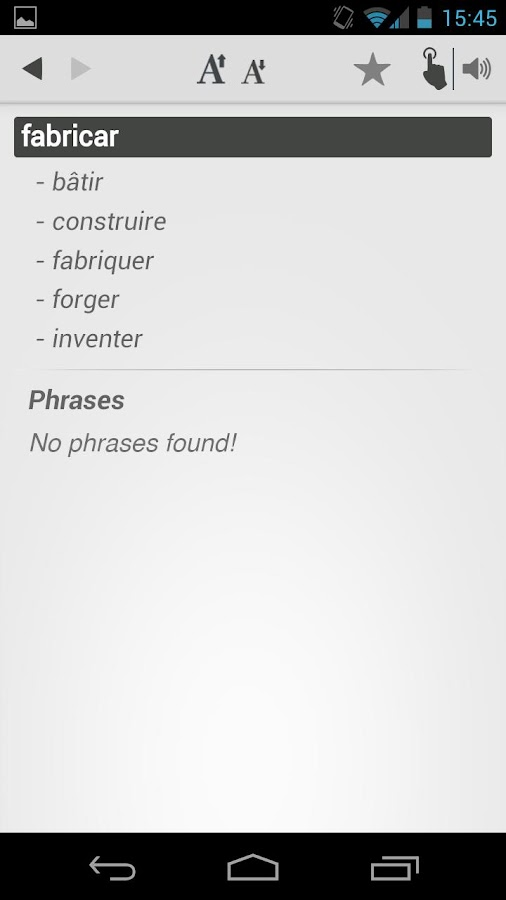 Dictionary spanish french android apps on google play dictionary spanish french screenshot negle Image collections