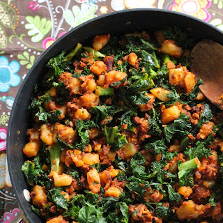 Kale and Soy Chorizo Hash Recipe