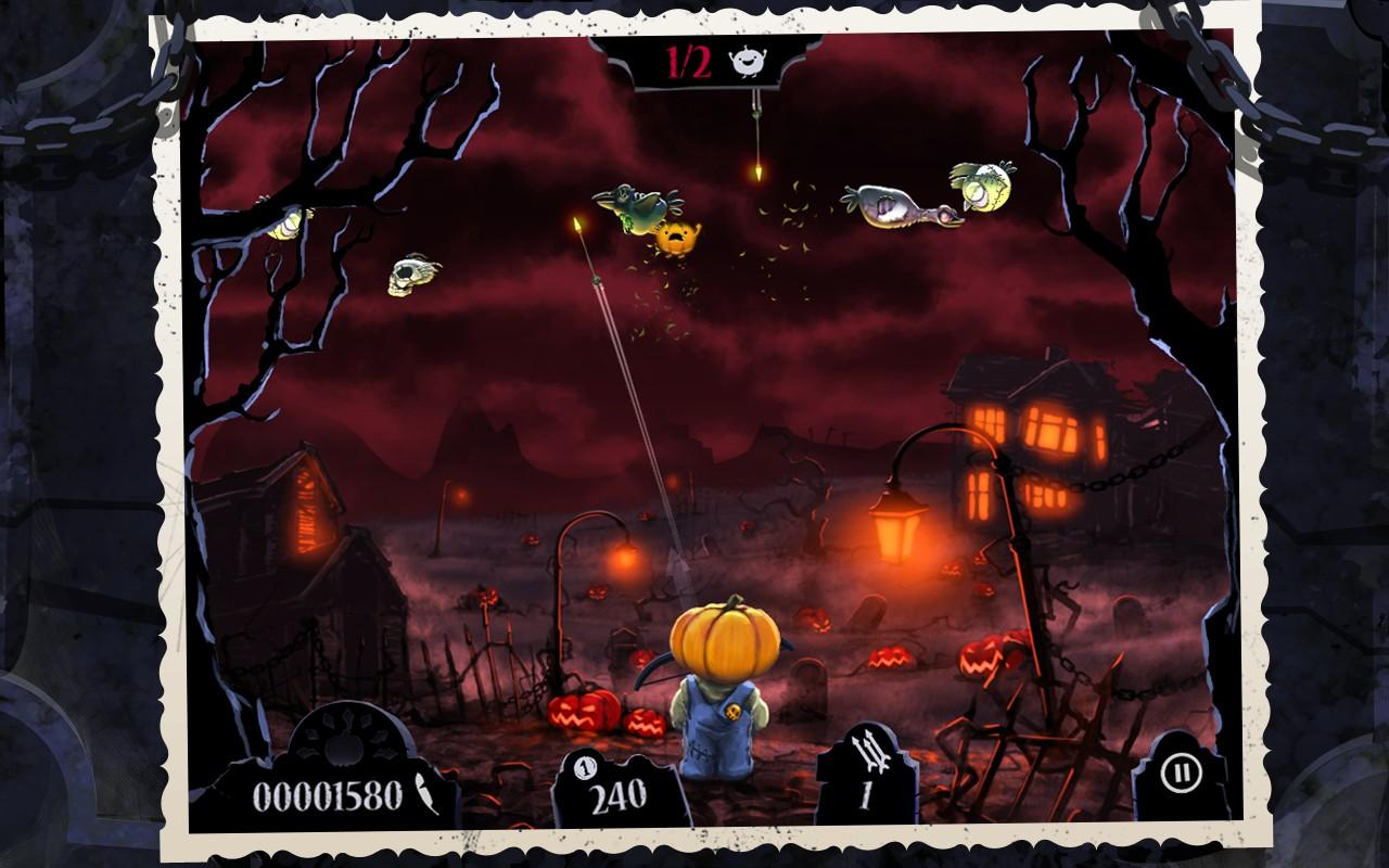Shoot The Zombirds- screenshot