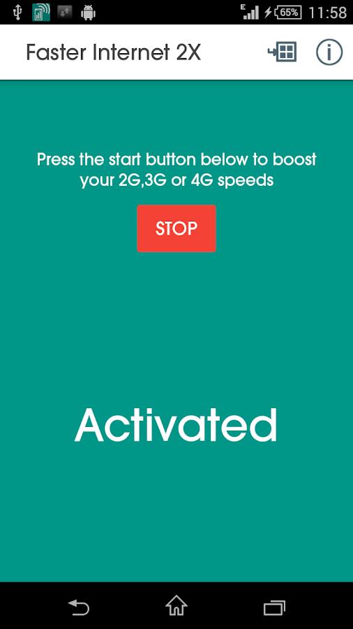 Faster Internet 2X - screenshot