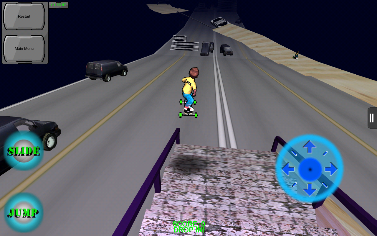 Freebord Snowboard The Streets- screenshot