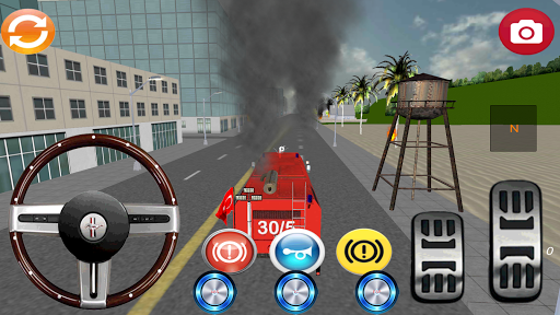 itfaiye Simülatör Oyunu 3D
