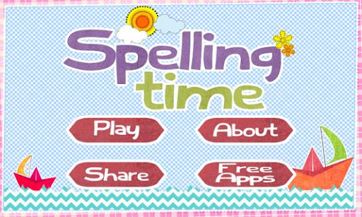 Spelling Time for Kids