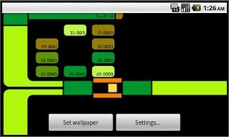 Screenshot of Sci-Fi UI Live Wallpaper Lite