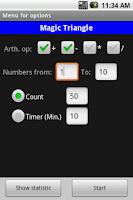 Screenshot of Brain and Memory Trainer