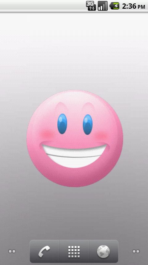 Smiley Face Moods LWP - screenshot