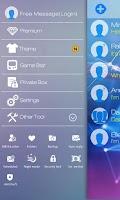 Screenshot of GO SMS PRO RESPLENDENT THEME