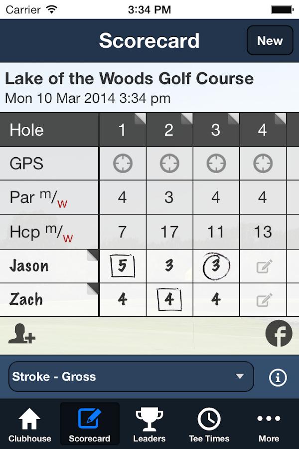 Lake of the Woods Golf - screenshot