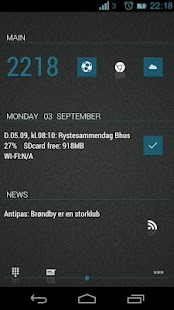 JellyBeanBlue theme - screenshot thumbnail