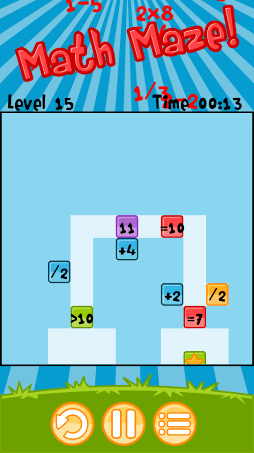 Math Maze!- screenshot