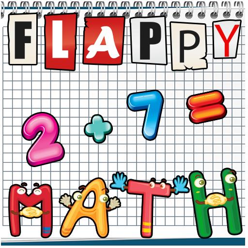 Flappy Math 街機 LOGO-玩APPs