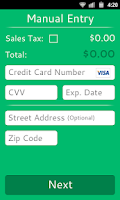 Screenshot of Credit Card Reader
