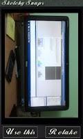 Screenshot of Sketchy Snaps Free