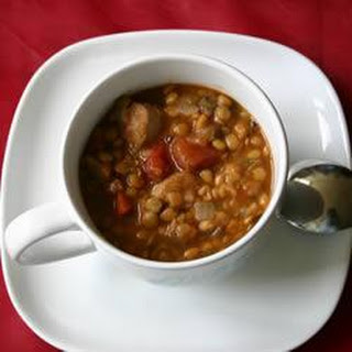 Lentil and Sausage Soup Recipe