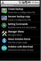 Screenshot of Remote Control Arduino Free
