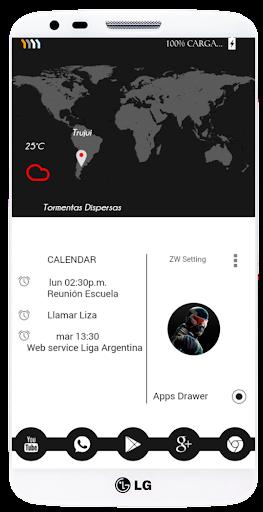 【免費個人化App】Preto ZW Theme-APP點子
