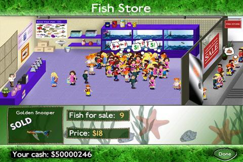 Fish Tycoon - screenshot