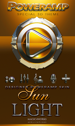Poweramp skin Sunlight
