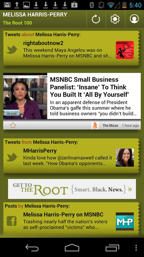 Melissa Harris-Perry: The Root - screenshot