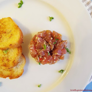 Tuna Fish Tartare.