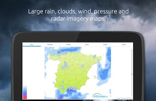 Screenshot of Weather by eltiempo.es