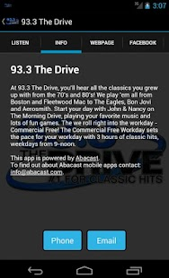 93.3 The Drive - screenshot thumbnail
