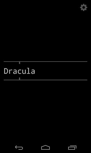 Dracula in a few hours
