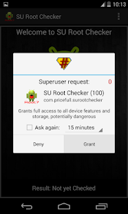 SU Root Checker- screenshot thumbnail