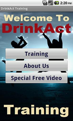 Struggling in DrinkAct Biz