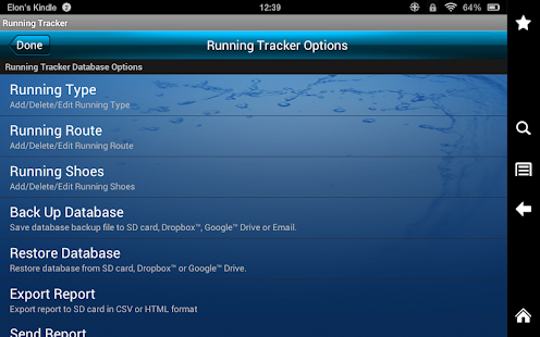Running Tracker- screenshot thumbnail