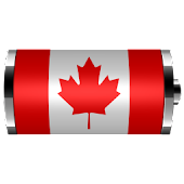 Canada: Flag Battery Widget