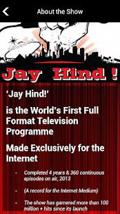 Jay Hind TV - screenshot thumbnail