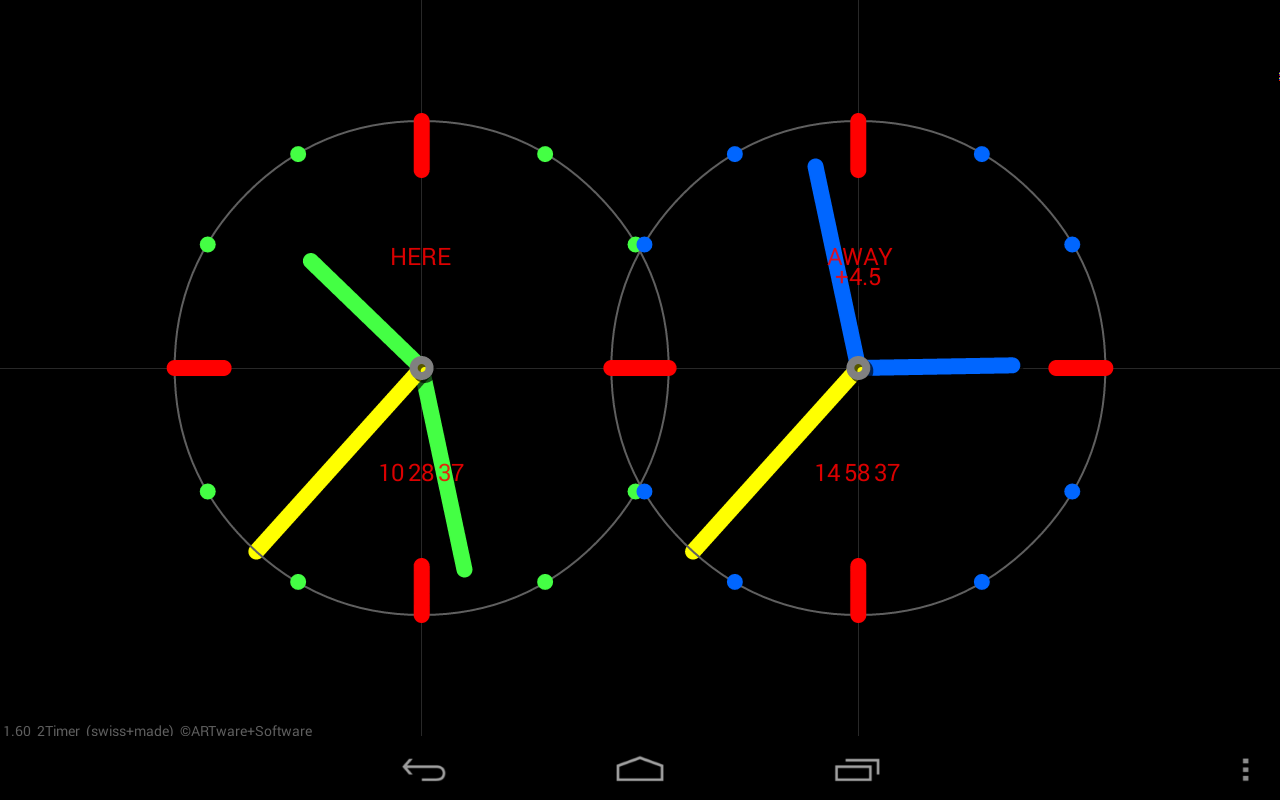 2Timer Clock Live Wallpaper Android Apps on Google Play