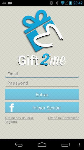 Gift2Me - Lista de regalos