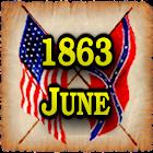 1863 June Am Civil War Gazette icon