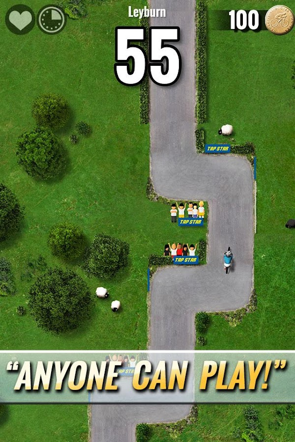 Tap Star : Cycling Tour- screenshot