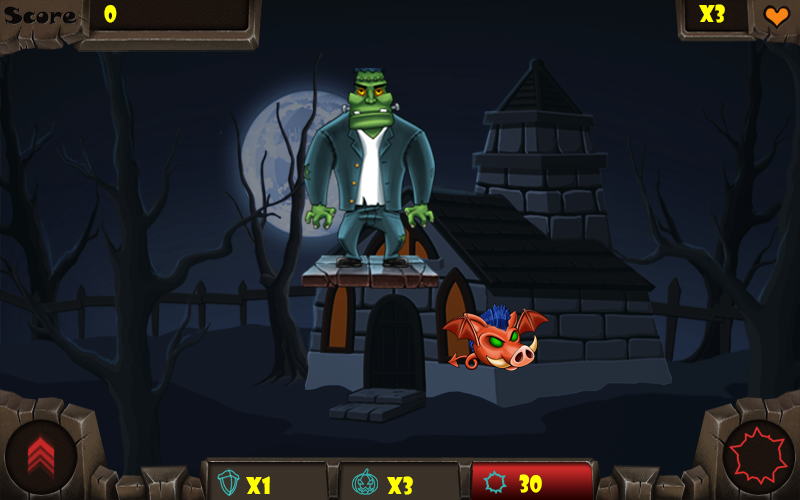 Monster Vs Piggies- screenshot